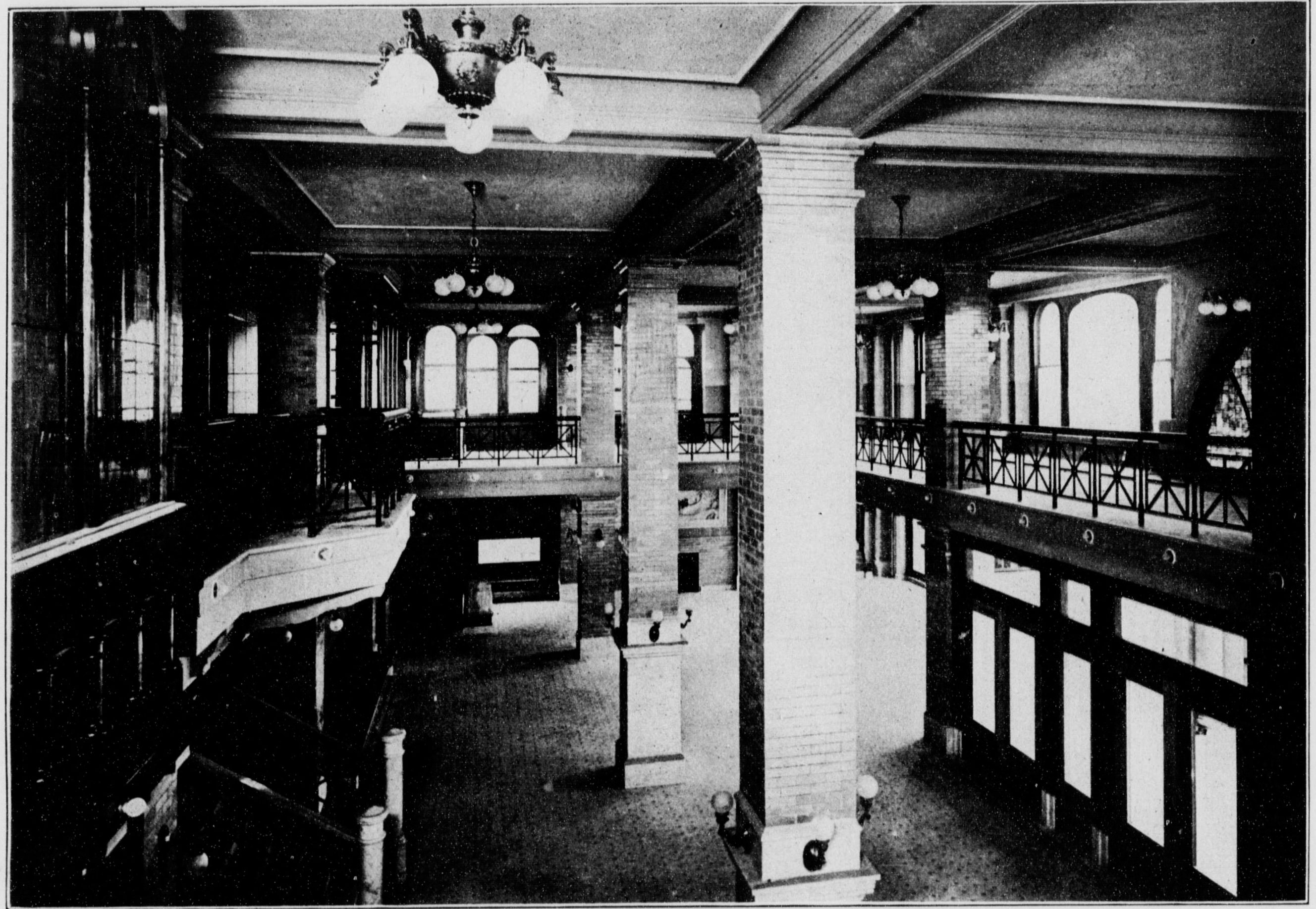 1908 Ymca Building Los Angeles Ca Chandler Museum Archives